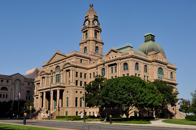 Tarrant County Courthouse, photo by Mark Fisher